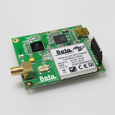Use Arduino and RS232 Shield to interface Integrated UHF